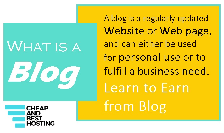 Best answer to question - What is a blog? Infographics with detailed info in blog definition