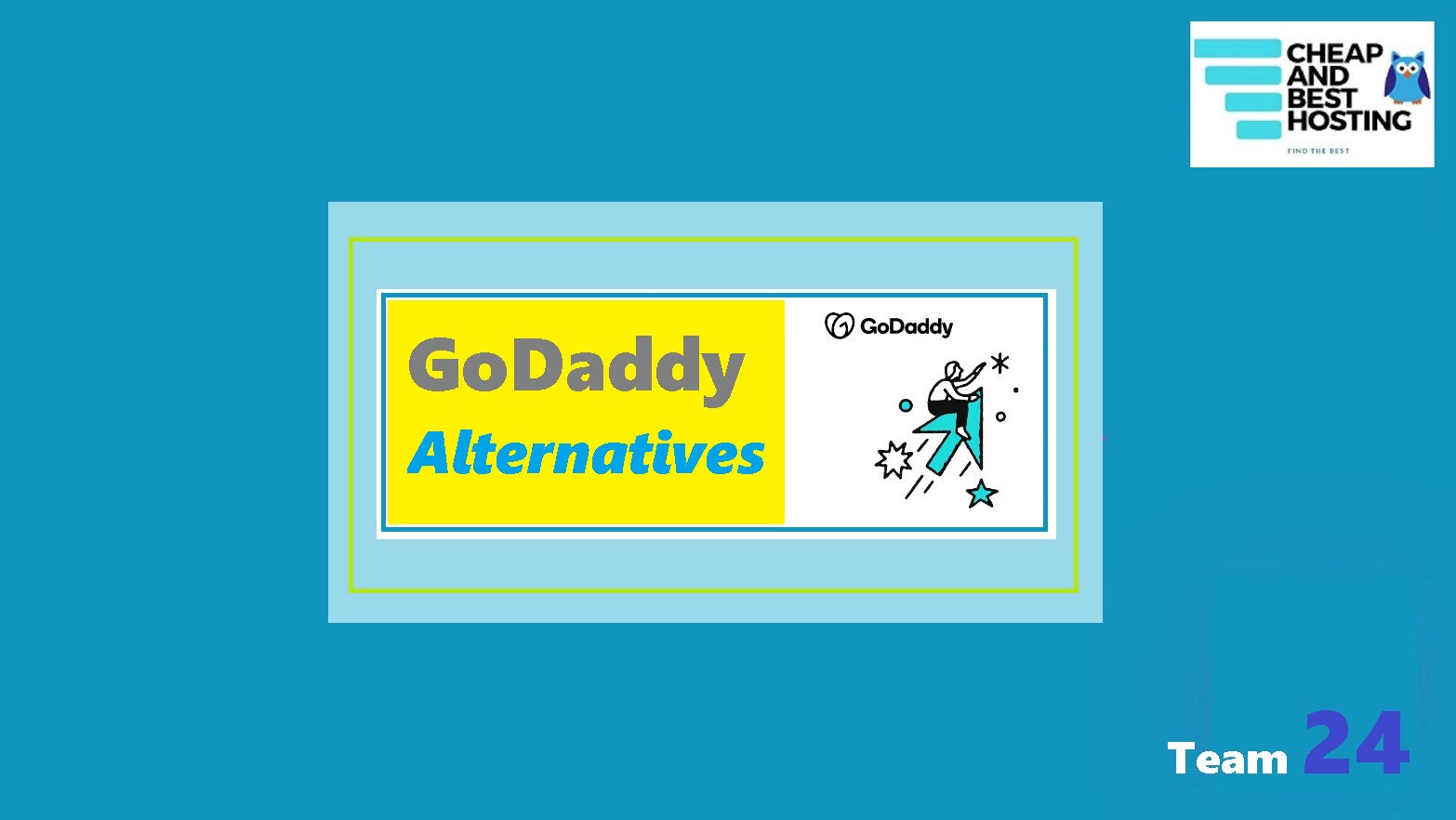 best Godaddy alternatives and competitors.