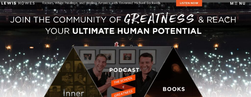 best personal website by a podcaster for his audience