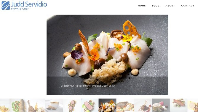 personal website of chef and other professionals, definitive guide explaining personal websites in detail
