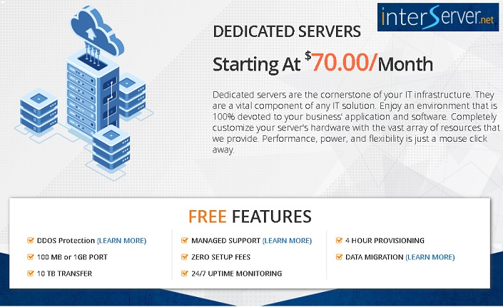 how to buy cheap dedicated hosting by interserver, Cheap dedicated hosting server compared and reviewed