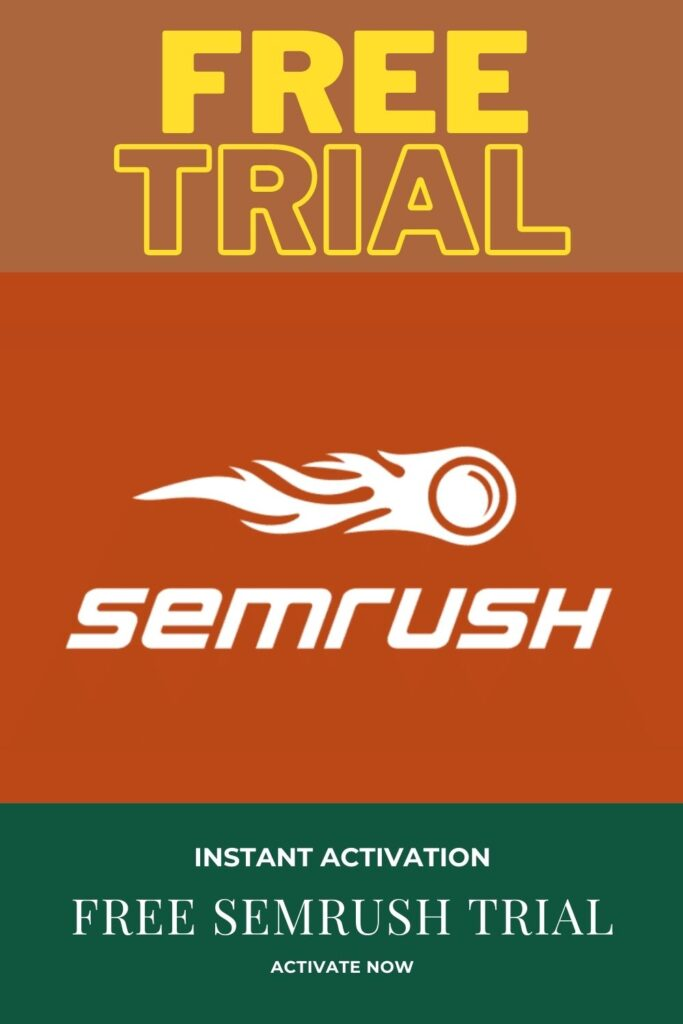 free semrush trial, semrush guru trial, semrush trial, COUPON