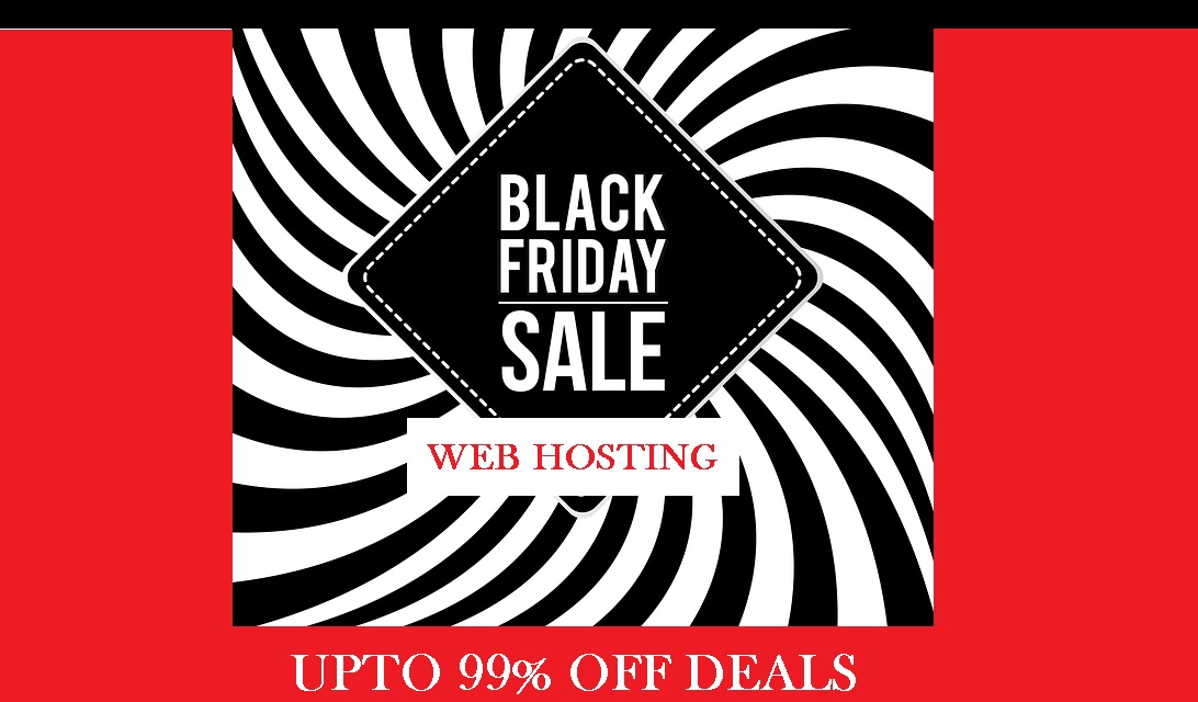 BLACK FRIDAY WEB HOSTING DISCOUNTED DEALS