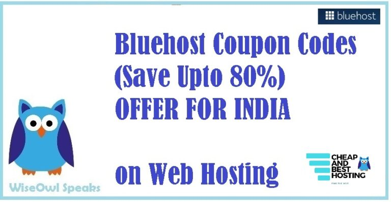 BLUEHOST COUPON, SPECIAL BLUEHOST.IN COUPON CODES FOR INDIA, BLUEHOST COUPON AND PROMO CODES WITH BLACKFRIDAY OFFERS