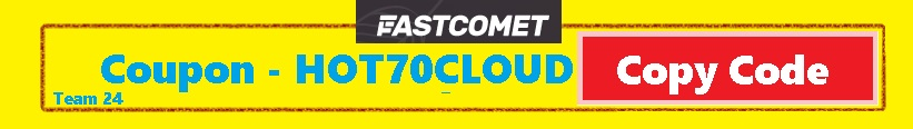fastcomet coupon code link with 70% off discount