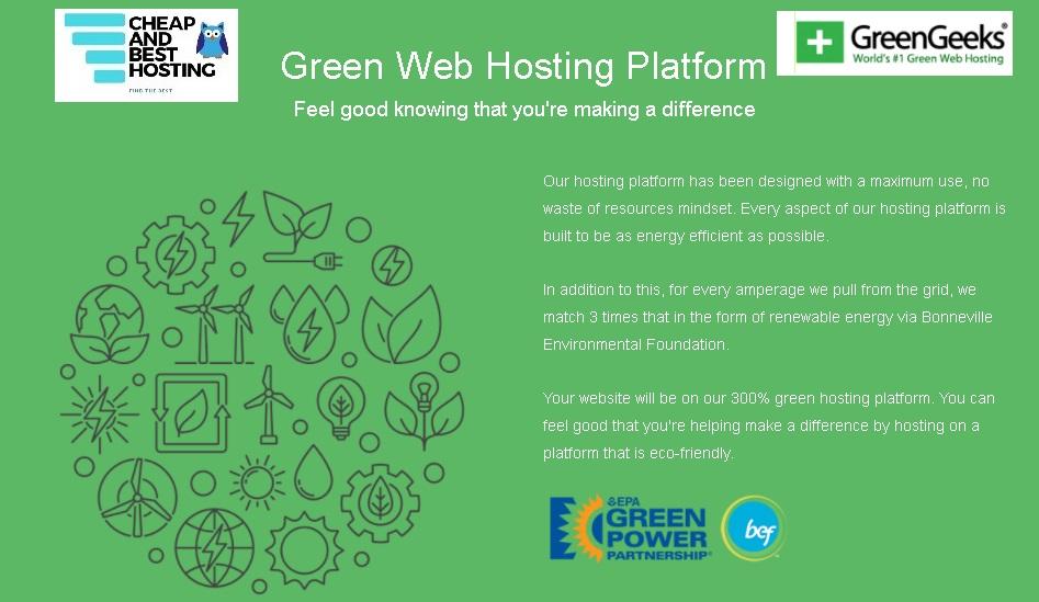 GreenGeeks Hosting Platform