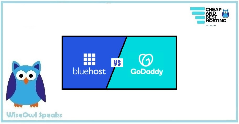 godaddy vs bluehost, bluehost vs godaddy