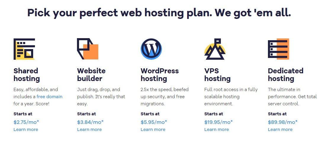 hostgator plans and pricing