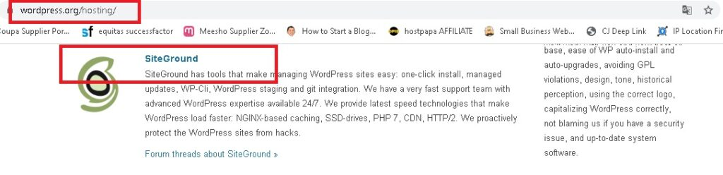 1st GoDaddy alternative is siteground. Proof of recommendation by wordpress attached.