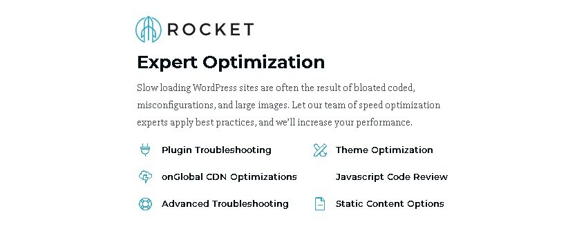 Is Speed Optimization Service by Rocket really useful? What is OnRocket's Expert Speed Optimization?