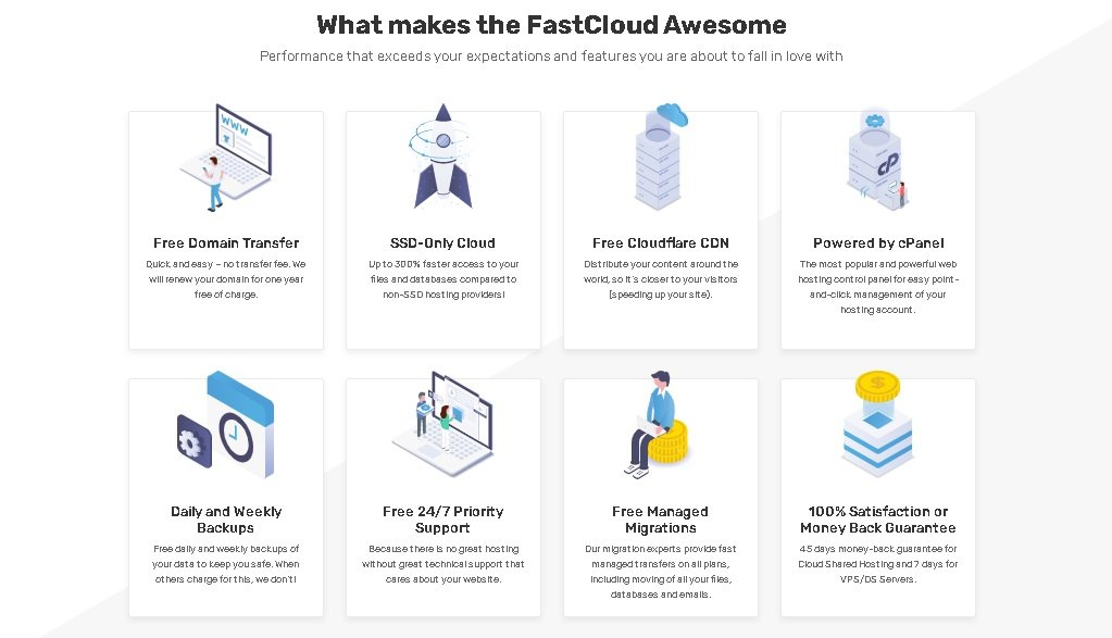 Godaddy's Replacement if speed and service is priority. FastComet offer better Speed and Customer Service as compared to Godaddy.