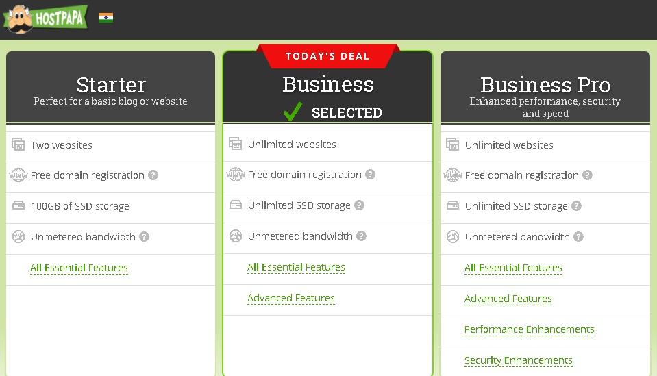 hostpapa web hosting and free hosting details