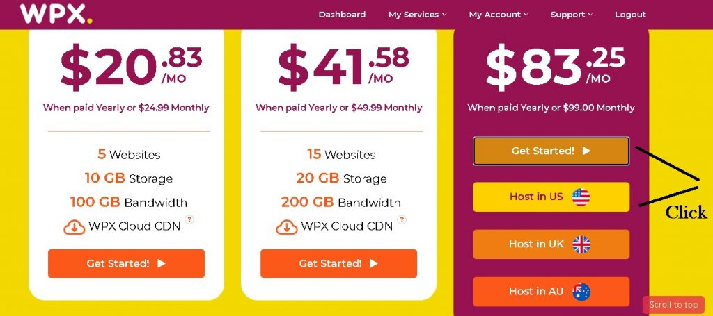 Process to avail 90 percent discount on wpx hosting with coupon