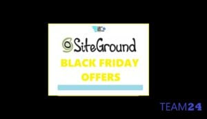 siteground black friday deals, discounts and offers with upto 80% promo