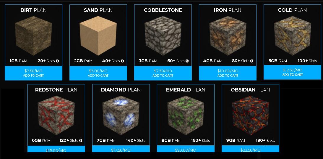 5 best and cheap minecraft servers, Shockbyte cheap yet best minecraft server hosting