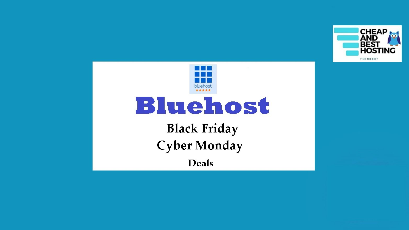Best Bluehost Black Friday Deals and Cyber Monday Offers 2020