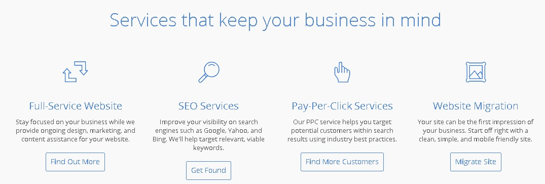 bluehost india services to boost website