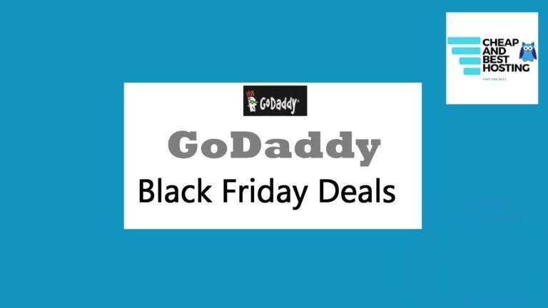 godaddy black friday, Godaddy deals, godaddy black friday offers, godaddy cyber monday deals