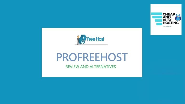 profreehost, profreehost review, profreehost alternatives with pros and cons