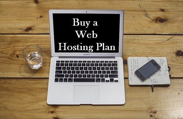 step 2 to start a wordpress blog - buy a we hosting plan
