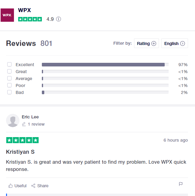 wpx reviews from customers