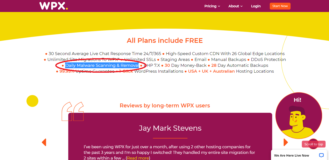 wpx freebies and malware removal details