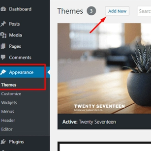 add theme in wordpress, Themes and Plugins Installation - WordPress