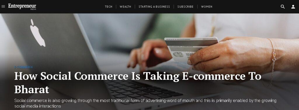 entrepreneur blog