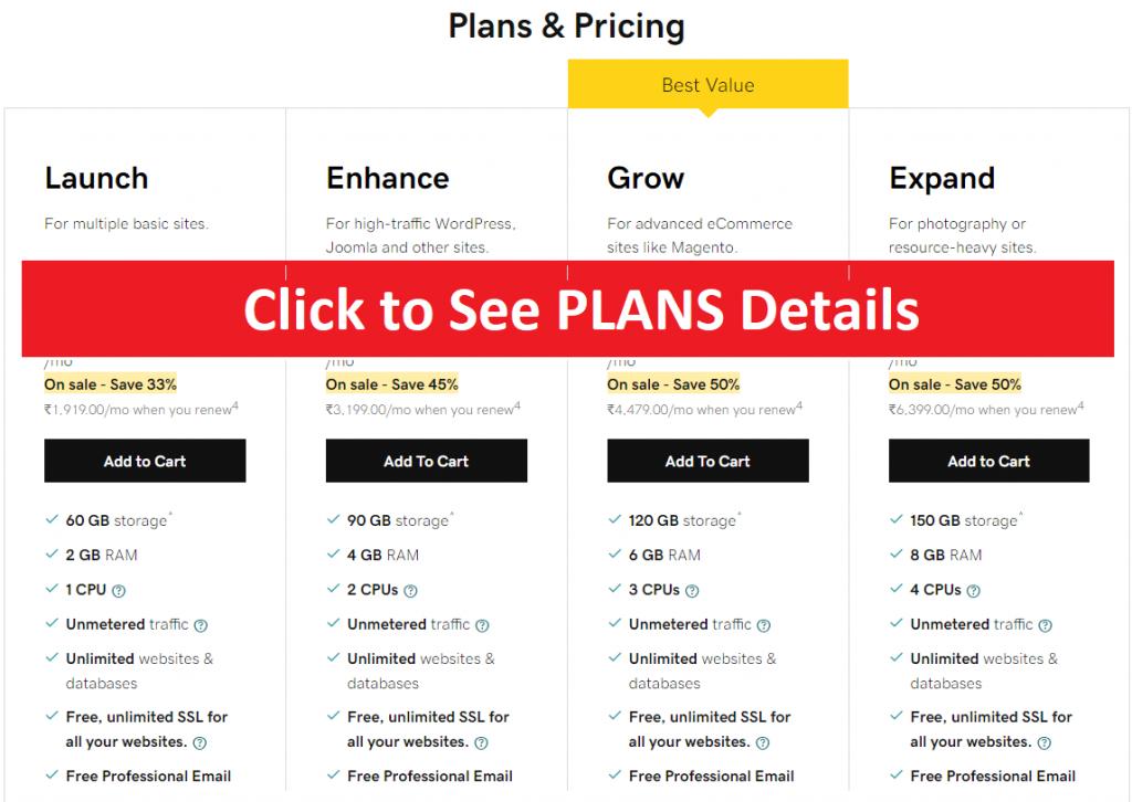godaddy black friday hosting plan, godaddy business plan
