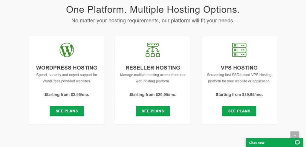 select a hosting plan for for your wordpress blog, start a wordpress blog