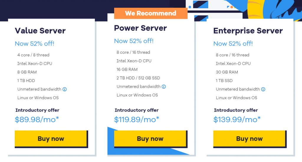 hostgator plans and pricing, Dedicated Server Plans & Pricing