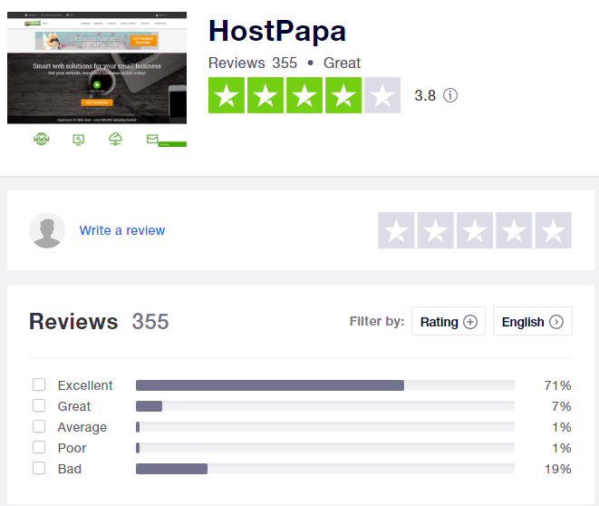 how to get hostpapa black friday deals, get started with hostpapa, black friday, hostpapa trustpiot review