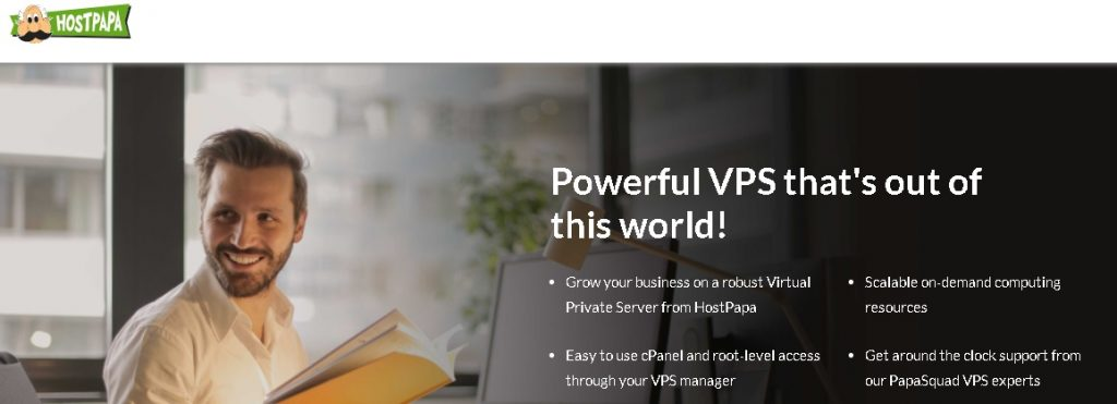 hostpapa vps deals on black friday and cybermonday