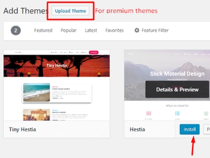 Install theme in wordpress, upload theme in wordpress, Themes and Plugins Installation - WordPress