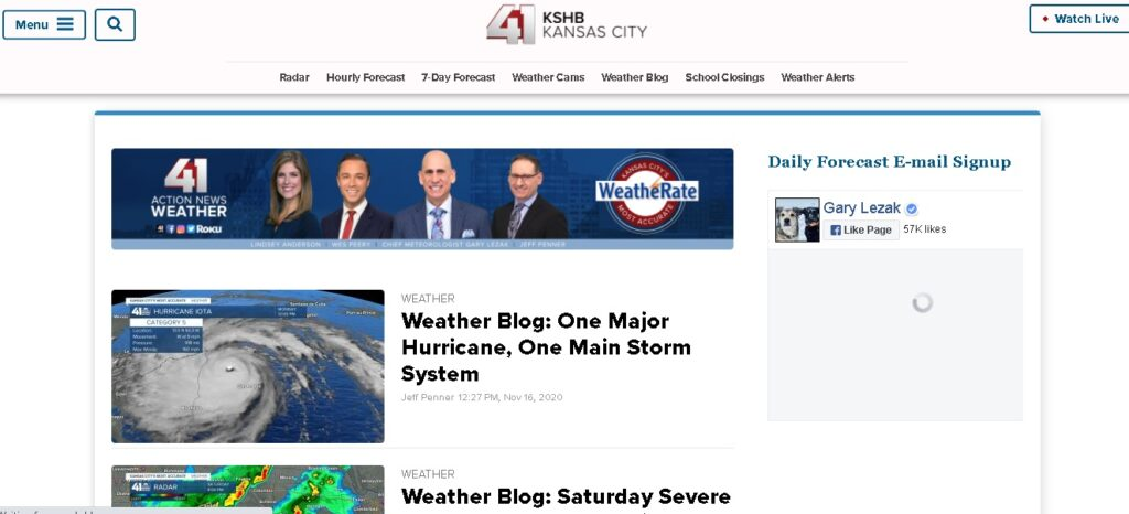 kshb weather blog