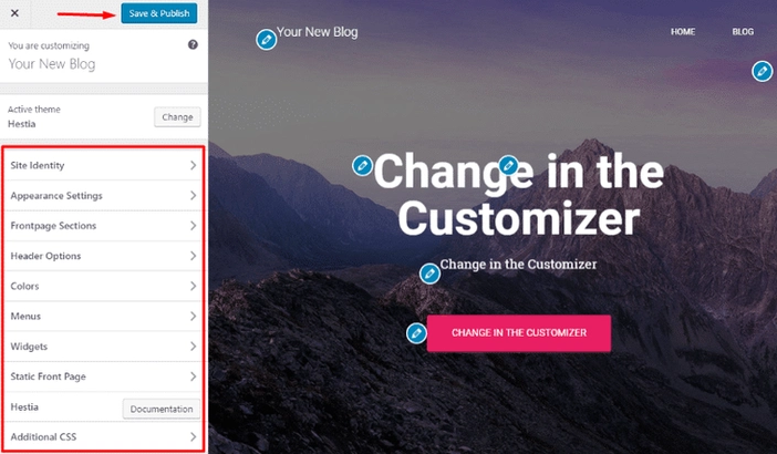 customizations settings in wordpress, Themes and Plugins Installation - WordPress