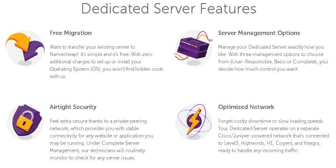 namecheap black friday offers on dedicated servers