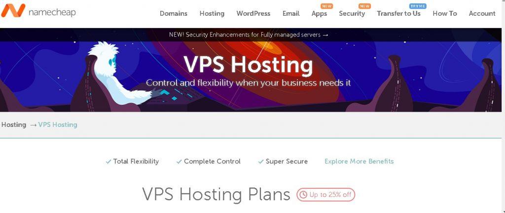 namecheap black friday vps hosting deals