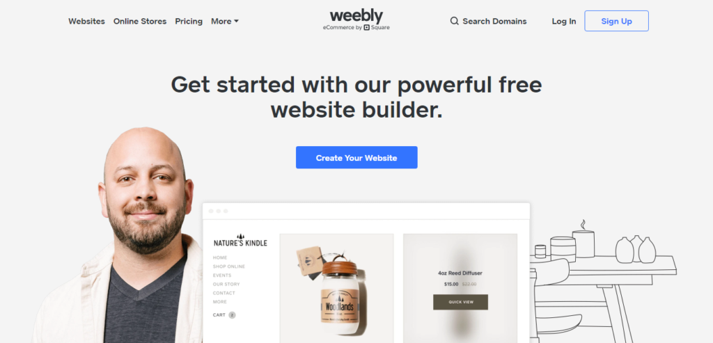 weebly web design and hosting platform