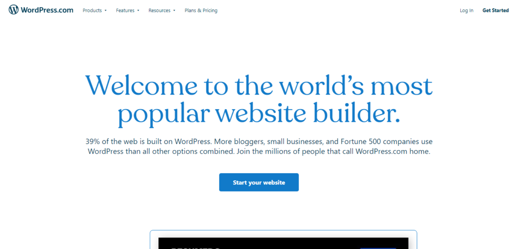 wordpress web design and hosting platform