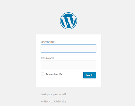 wordpress login page, wp-admin login page, Login your WordPress