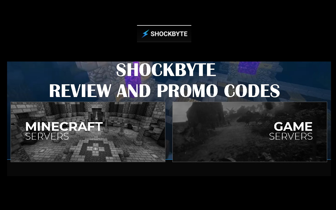 LATEST AND BEST SHOCKBYTE MINECRAFT SERVER REVIEW AND PROMO CODES