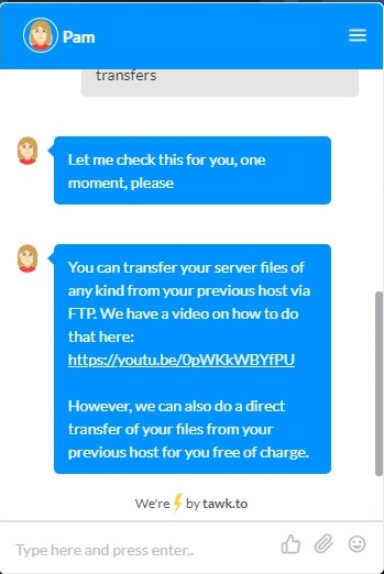 ShockByte Customer Support Live Chat