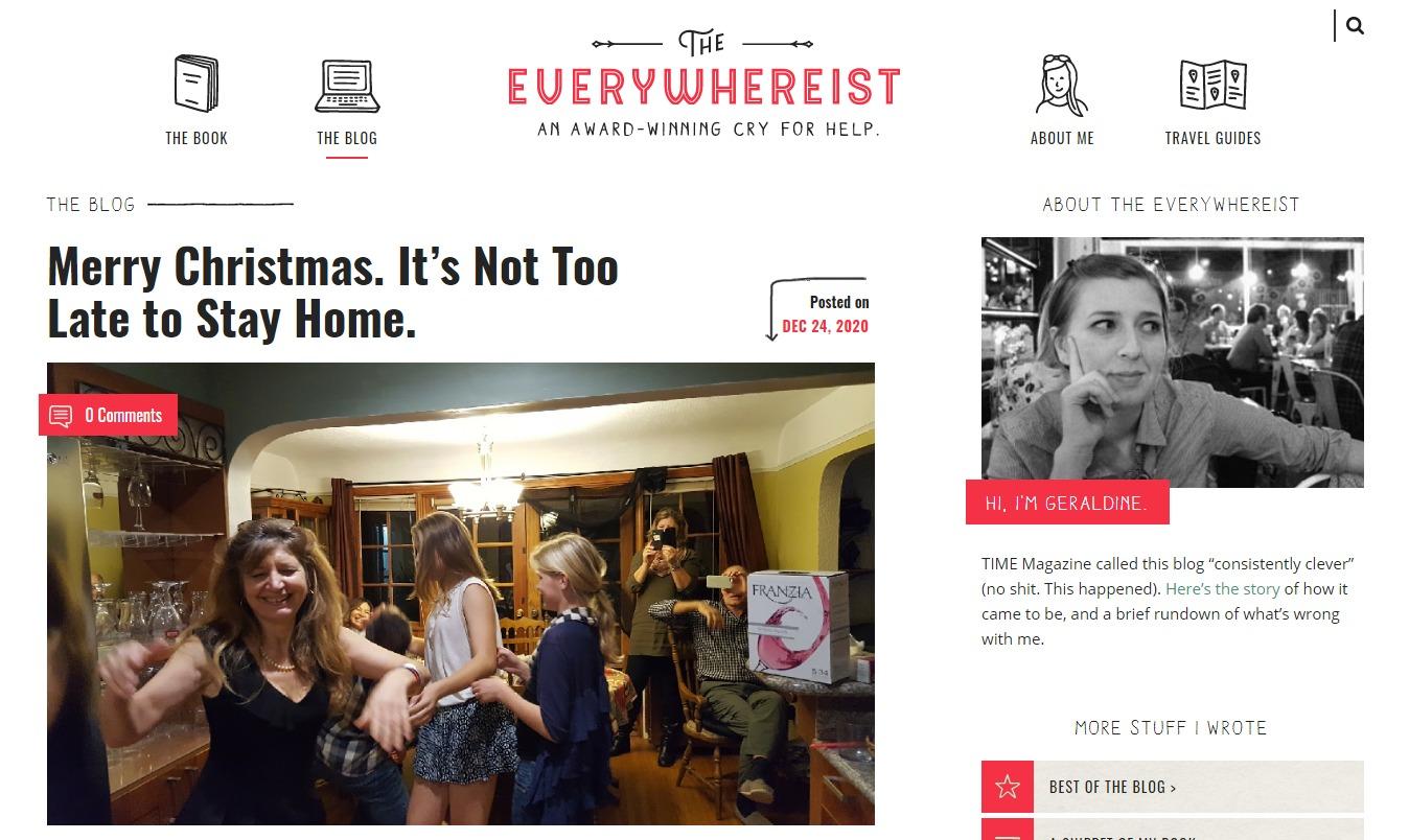 Popular personal blogs to follow, the everywhereist