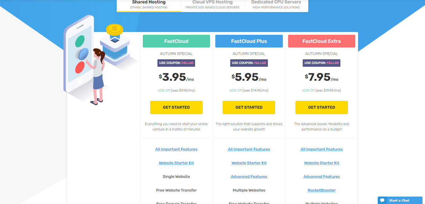 Fastcomet Hosting, fastcomet with cPanel