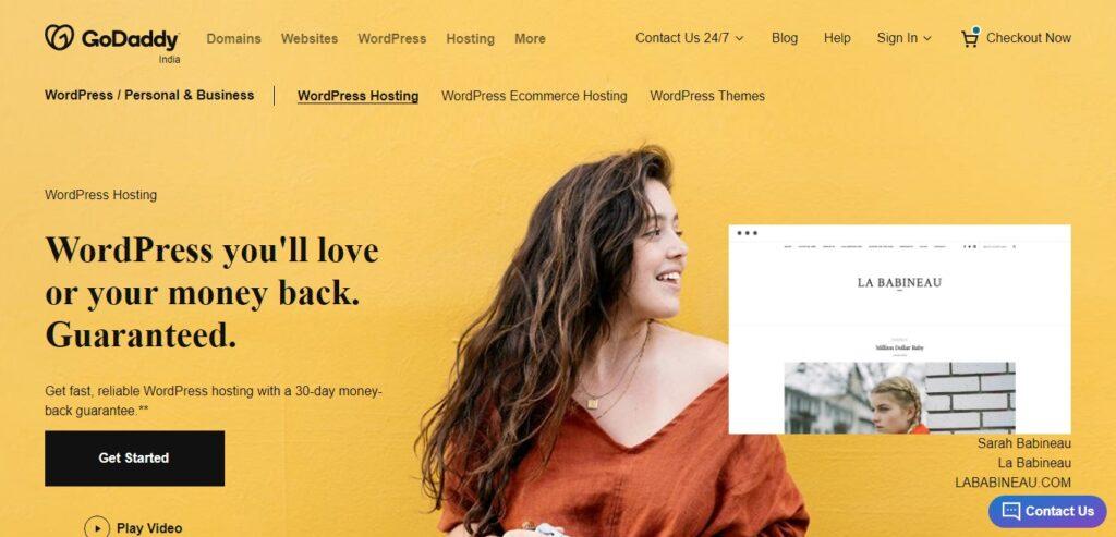 godaddy managed wordpress hosting