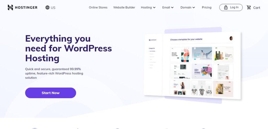 hostinger managed wordpress hosting