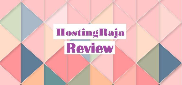 hostingraja review