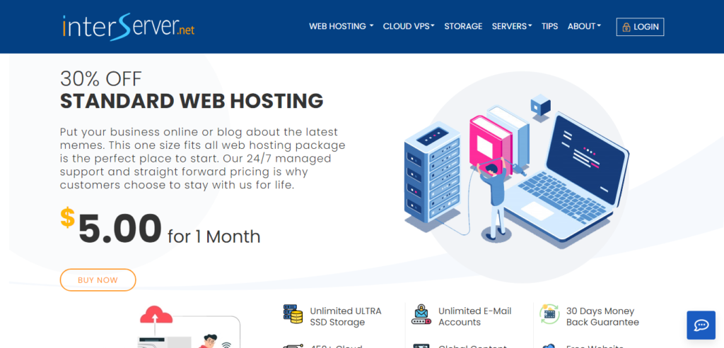 interserver shared hosting