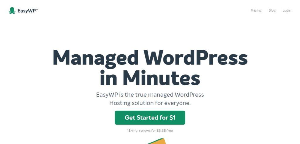 namecheap easywp managed wordpress hosting